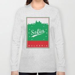 Sofia city, Bulgaria, poster, t-shirt Long Sleeve T-shirt
