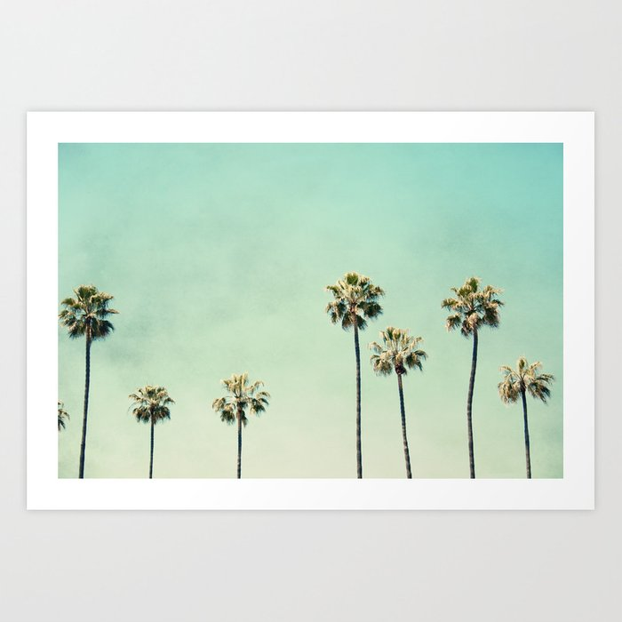 Palm Trees Art Print By Maddenphotography Society6