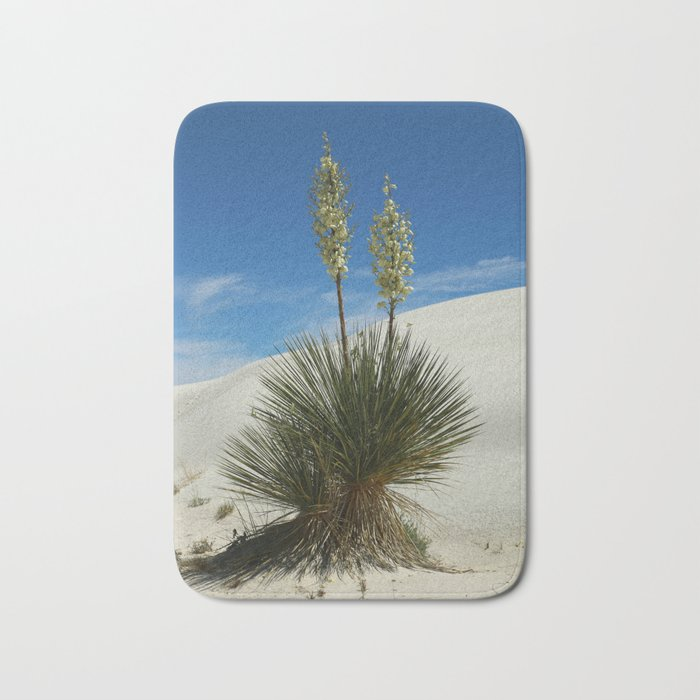 Soap Yucca In The White Sands Dunes Bath Mat