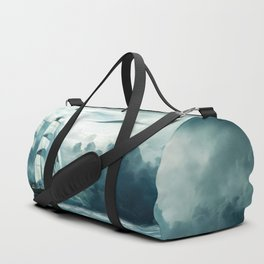 Blue Ocean Ship Storm Clouds Duffle Bag