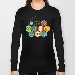 Math in color Long Sleeve T-shirt