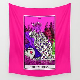 3. The Empress- Neon Dreams Tarot Wall Tapestry