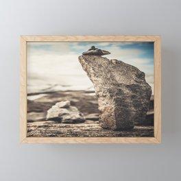 STONE PILAR Framed Mini Art Print