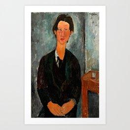 "Amedeo Modigliani ""Chaim Soutine"" Art Print"