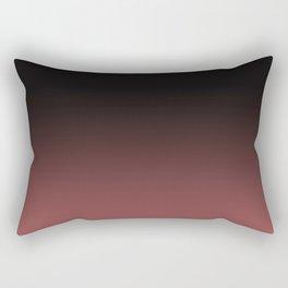 Marsala Ombre Rectangular Pillow