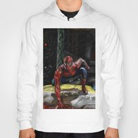 comic book Hoodies featuring comic by Fila Venom Art