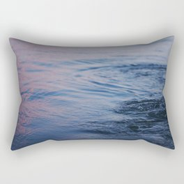 Thicker Than Water Rectangular Pillow