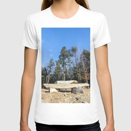 Rock Pile Among The Trees T-shirt