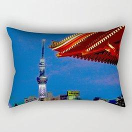 Sight of Sky Tree Rectangular Pillow