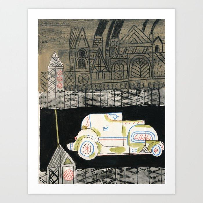 Crystal City 06-30-10a Art Print