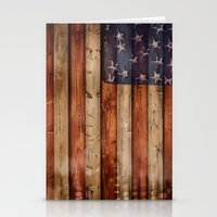 america Stationery Cards featuring america by Arken25