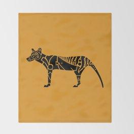Tasmanian Tiger Throw Blanket
