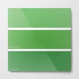 Par Four Green Metal Print