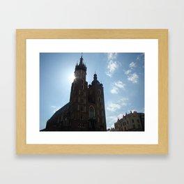 Kraków Framed Art Print