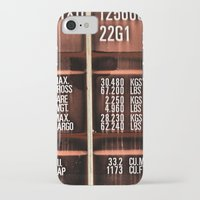 rogue iPhone & iPod Cases featuring Rogue container by Bruce Stanfield