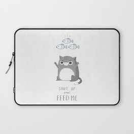 Hungry Cat Laptop Sleeve