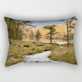 Lake District landscape Rectangular Pillow