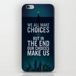 Bioshock Rapture Quote iPhone Skin
