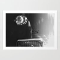truck Art Prints featuring Truck by Dry Bones Photography
