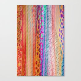 Tulle Curtain Canvas Print