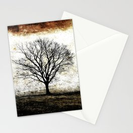 One Fog Tree Warm Stationery Cards