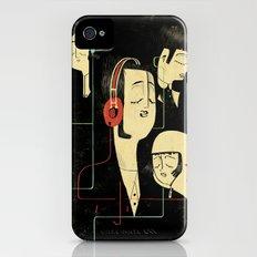 乐 Music Lovers / Vintage iPhone (4, 4s) Slim Case