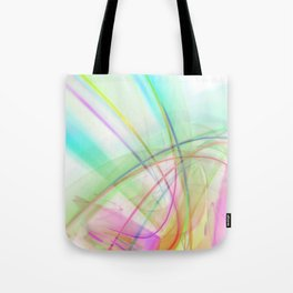 Atmospheric - 02 Colorful Abstract Art Tote Bag
