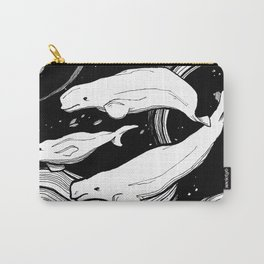 Beluga Whale Pod Carry-All Pouch