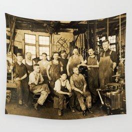 DeFrancisci & Son Macaroni Machines Wall Tapestry