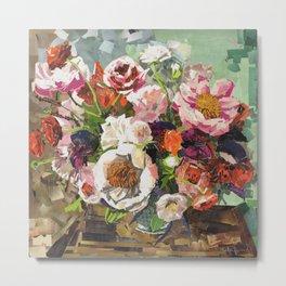 Tin Can Studios Floral 1 Metal Print