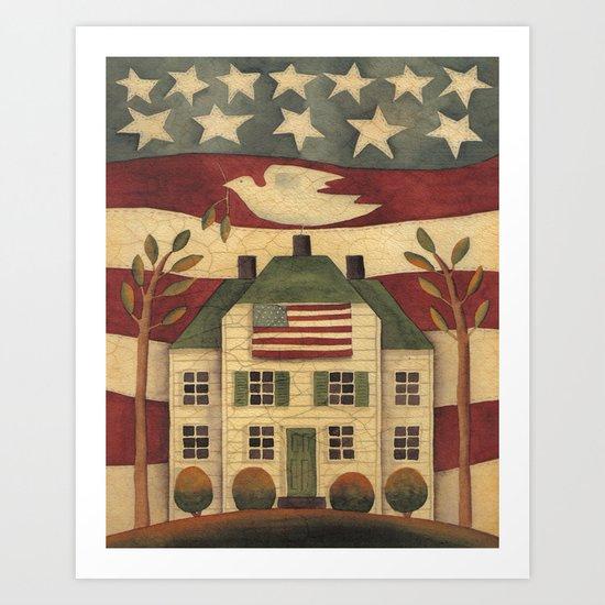 Where Freedom Dwells Art Print
