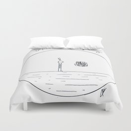 Just a simple thing Duvet Cover