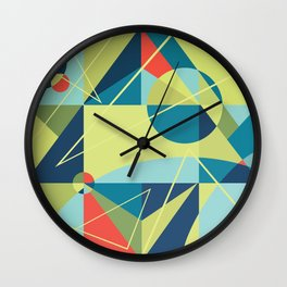 Without Any Address Wall Clock