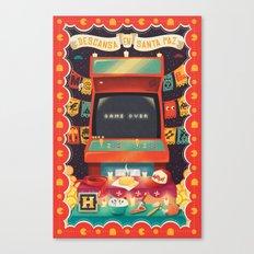 Ofrenda a las arcades Canvas Print