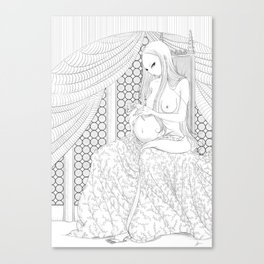 The Pregnant Owlet Canvas Print