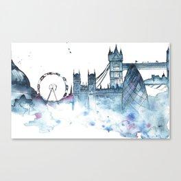 I dream of London Canvas Print