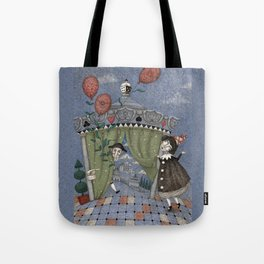 Curtains Up! Tote Bag