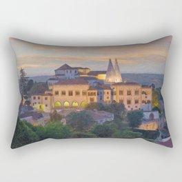 Sintra Royal Palace. Lisbon, Portugal Rectangular Pillow