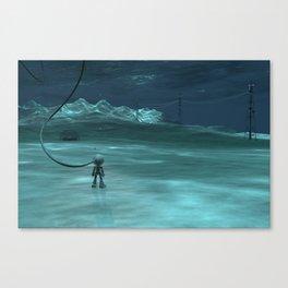 Going Deep Canvas Print