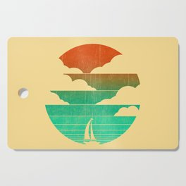 Go West (sail away in my boat) Cutting Board