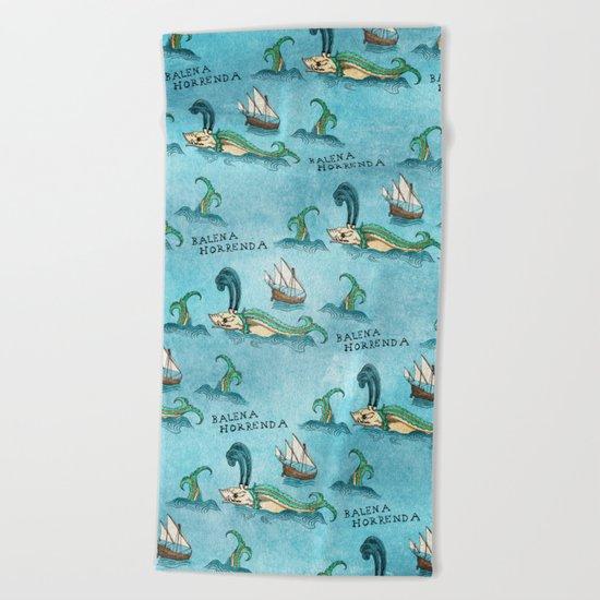Balena Horrenda Beach Towel