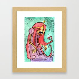 Princess BrainsareYum Framed Art Print
