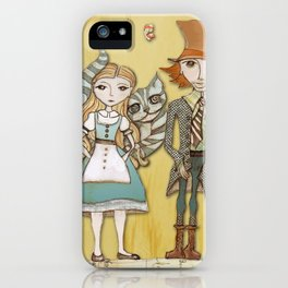 How Strange It Is - Alice in Wonderland iPhone Case