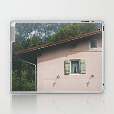 Pink Alpine House Laptop & iPad Skin