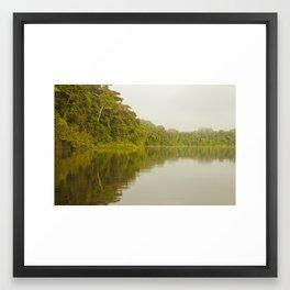 Lago Tres Chimbadas, Perú Framed Art Print
