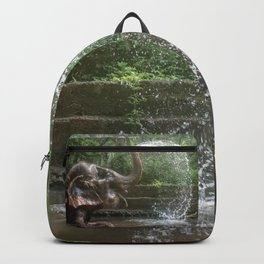 Elephant Bathing Backpack