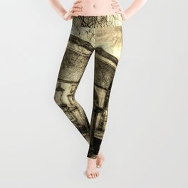 Greyfriars Kirk Edinburgh Vintage Leggings