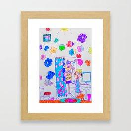 Kelly Bruneau #21 Framed Art Print