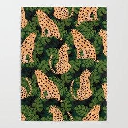 Cheetah Pattern Poster