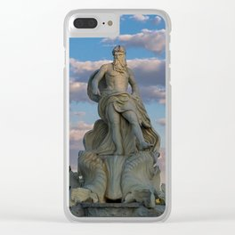 Trevi Fountain, Rome Italy Clear iPhone Case
